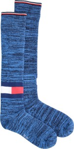 Niebieskie skarpetki Tommy Hilfiger
