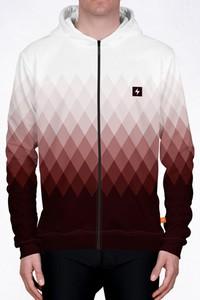 Bluza Power Canvas w geometryczne wzory
