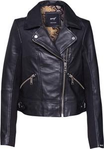 Czarna kurtka Maze krótka w rockowym stylu