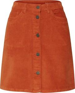 Spódnica Noisy May w stylu casual ze sztruksu