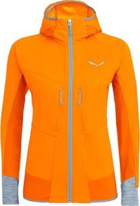 Pomarańczowa kurtka Salewa w stylu casual krótka