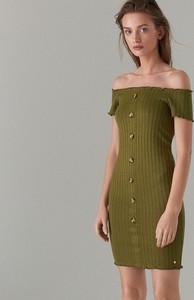 Zielona sukienka Mohito bodycon