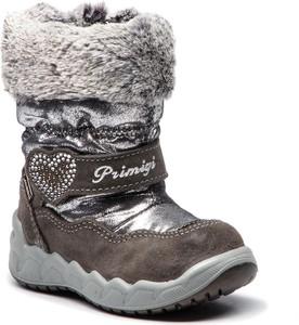 Buty zimowe Primigi ze skóry