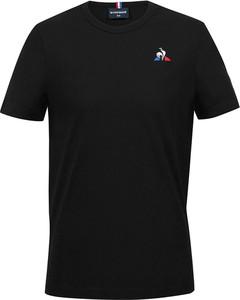 Czarna koszulka dziecięca Le Coq Sportif