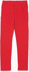 Czerwone spodnie dziecięce born2be
