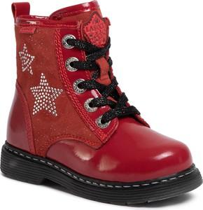 Czerwone buty dziecięce zimowe eobuwie.pl