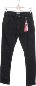 Czarne spodnie dziecięce Cesare Paciotti 4us dla chłopców