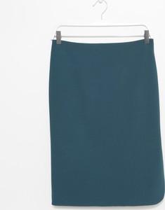 Niebieska spódnica simple