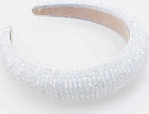 Mohito - Opaska na włosy z koralikami - Biały