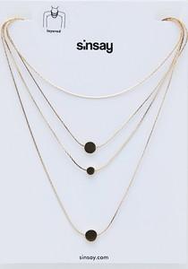 Sinsay - Zestaw naszyjników - Złoty