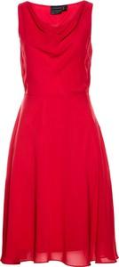 Czerwona sukienka bonprix bpc selection midi
