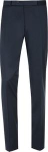 Czarne spodnie Graso Moda z tkaniny
