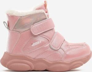 Buty dziecięce zimowe born2be na rzepy