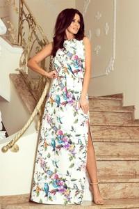 Sukienka NUMOCO maxi z okrągłym dekoltem