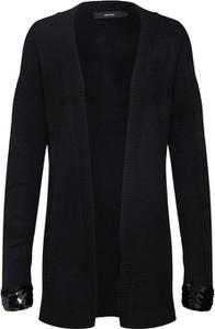 Czarny sweter Vero Moda z dzianiny