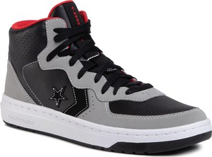 eobuwie.pl Sneakersy CONVERSE - Rival Mid 168735C Black/Dolphin/University Red