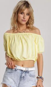 Żółta bluzka Renee hiszpanka