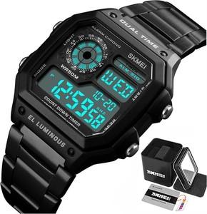 Zegarek MĘSKI elektroniczny SKMEI 1335 LED czarny