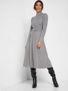 Sukienka ORSAY z tkaniny z długim rękawem w stylu casual
