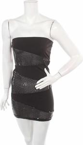 Sukienka Metrofive gorsetowa bez rękawów mini