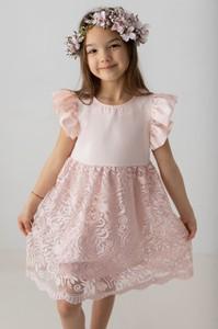 Sukienka dziewczęca Myprincess / Lily Grey z bawełny