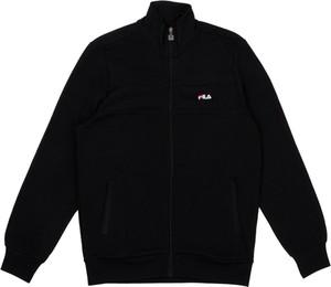 Czarna kurtka Fila w stylu casual