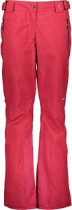 Różowe spodnie sportowe CMP z tkaniny