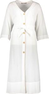 Sukienka Comptoir Des Cotonniers z dekoltem w kształcie litery v w stylu casual