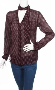 Fioletowa bluzka HUNKYDORY z długim rękawem