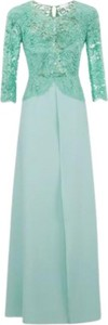 Zielona sukienka Elisabetta Franchi maxi