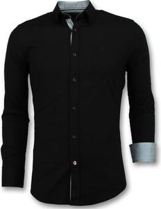 Koszula TONY BACKER z kołnierzykiem button down z długim rękawem