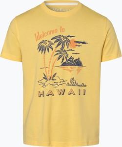 Żółty t-shirt Mc Earl z krótkim rękawem