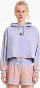 Bluza Puma z bawełny krótka w sportowym stylu