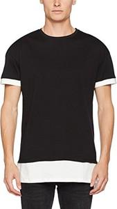Czarny t-shirt New Look z krótkim rękawem