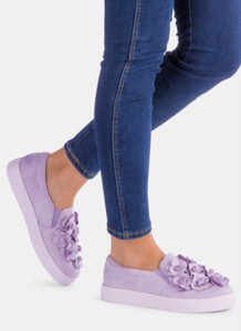 Deezee fioletowye ozdobne buty sportowe soma