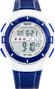 Zegarek PACIFIC sportowy LCD 205-L granatowy