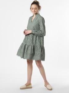 Zielona sukienka Y.A.S w stylu boho