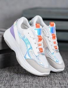Sneakersy Czasnabuty na platformie sznurowane