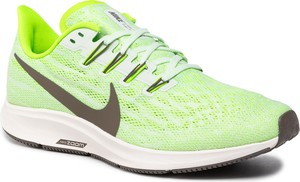 Zielone buty sportowe Nike pegasus