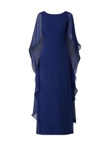 Sukienka Lauren Ralph Lauren z szyfonu