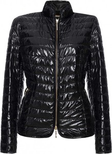 Czarna kurtka Fan Leather ze skóry krótka