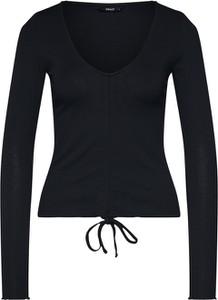 Czarna bluzka Only w stylu casual