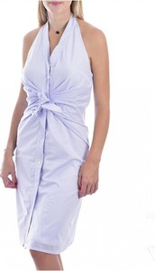 Niebieska sukienka MOLLY BRACKEN