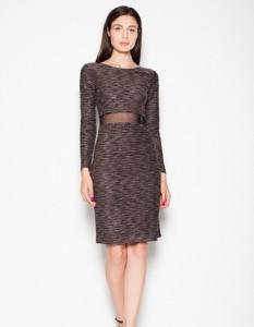 Sukienka Venaton z długim rękawem