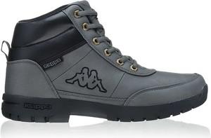 Buty zimowe Kappa sznurowane w sportowym stylu