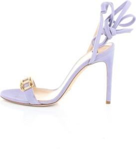 Sandały Elisabetta Franchi z klamrami