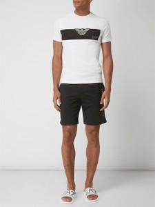 T-shirt EA7 Emporio Armani z krótkim rękawem w stylu casual z bawełny