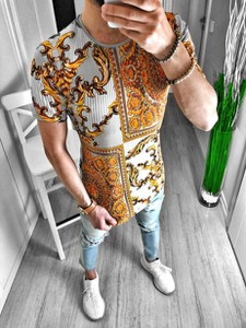 T-shirt Duuf z krótkim rękawem z nadrukiem