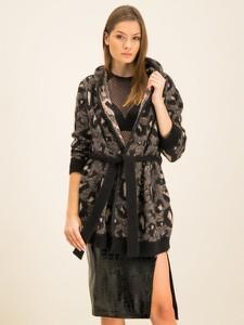 Czarny sweter Manila Grace w stylu casual
