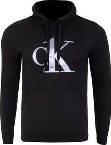 Czarna bluza Calvin Klein z dresówki